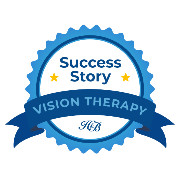 Vision Therapy Success Story